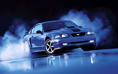 2003 Ford Mustang Mach 1 wallpaper thumbnail.