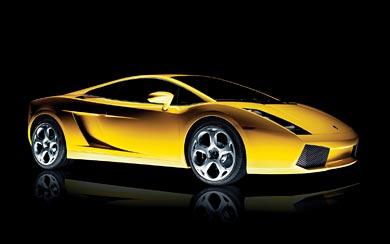 2003 Lamborghini Gallardo wallpaper thumbnail.