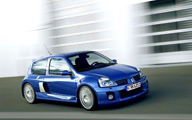 2003 Renault Clio V6 wallpaper thumbnail.