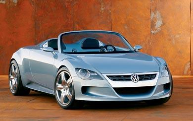 2003 Volkswagen Concept-R wallpaper thumbnail.