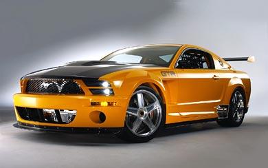 2004 Ford Mustang GT-R Concept wallpaper thumbnail.