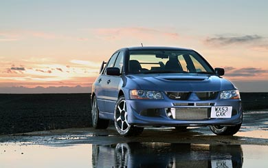 2004 Mitsubishi Lancer Evolution VIII wallpaper thumbnail.