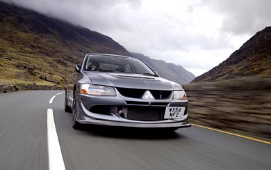 2004 Mitsubishi Evolution VIII MR FQ-400 wallpaper thumbnail.