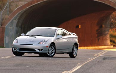 2004 Toyota Celica GT-S wallpaper thumbnail.