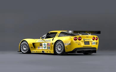 2005 Chevrolet Corvette C6R wallpaper thumbnail.