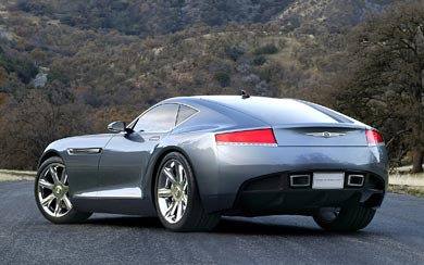 2005 Chrysler Firepower Concept wallpaper thumbnail.