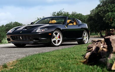 2005 Ferrari 575M Superamerica wallpaper thumbnail.