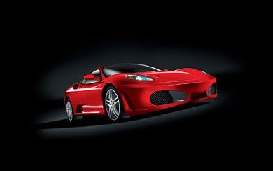 2005 Ferrari F430 wallpaper thumbnail.