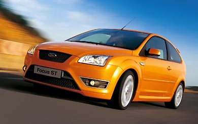 2005 Ford Focus ST wallpaper thumbnail.