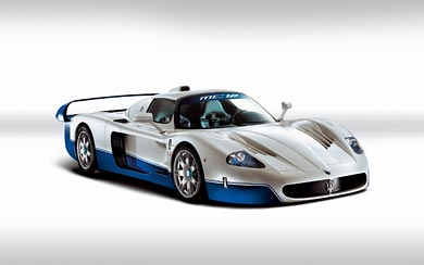 2005 Maserati MC12 wallpaper thumbnail.