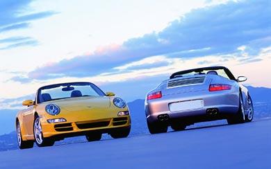2005 Porsche 911 Carrera S wallpaper thumbnail.