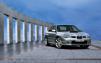 2005 Subaru Impreza WRX wallpaper thumbnail.