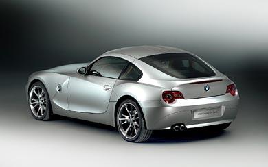 2006 BMW Z4 M Coupe wallpaper thumbnail.