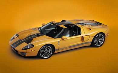 2006 Ford GTX1 Roadster wallpaper thumbnail.