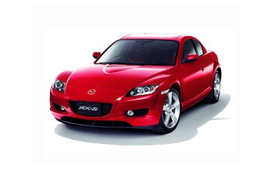 2006 Mazda RX-8 wallpaper thumbnail.