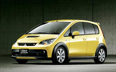 2006 Mitsubishi Colt Ralliart Version-R wallpaper thumbnail.