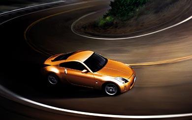 2006 Nissan 350Z wallpaper thumbnail.