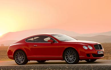 2007 Bentley Continental GT Speed wallpaper thumbnail.