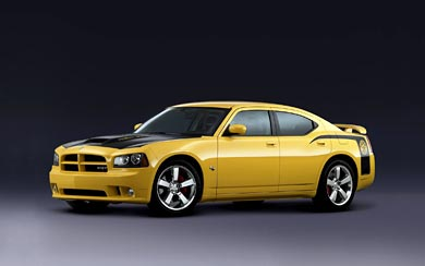2007 Dodge Charger SRT8 Super Bee wallpaper thumbnail.