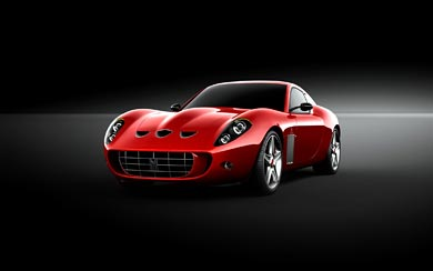 2007 Ferrari 599 GTO Vandenbrink wallpaper thumbnail.
