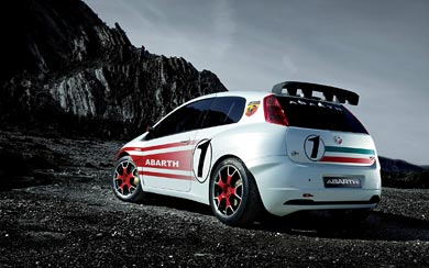 2007 Fiat Abarth Grande Punto S2000 wallpaper thumbnail.