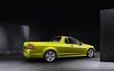 2007 Holden VE Ute SSV wallpaper thumbnail.
