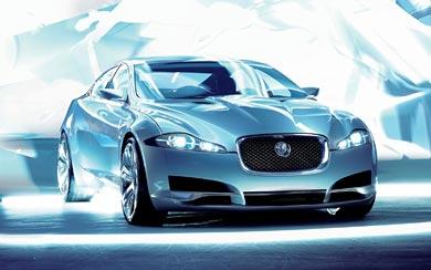 2007 Jaguar C-XF Concept wallpaper thumbnail.