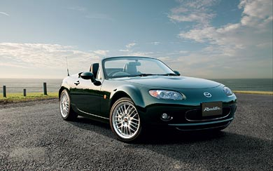2007 Mazda MX-5 wallpaper thumbnail.