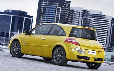 2007 Renault Megane R26 wallpaper thumbnail.