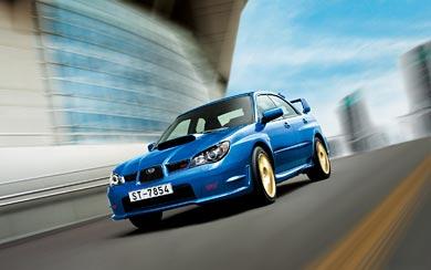 2007 Subaru Impreza WRX STI wallpaper thumbnail.