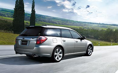 2007 Subaru Legacy GT Touring Wagon wallpaper thumbnail.
