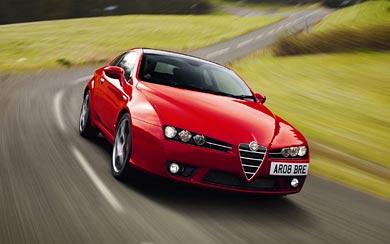 2008 Alfa Romeo Brera S wallpaper thumbnail.
