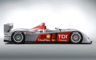 2008 Audi R10 TDI wallpaper thumbnail.