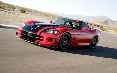 2008 Dodge Viper SRT10 ACR wallpaper thumbnail.