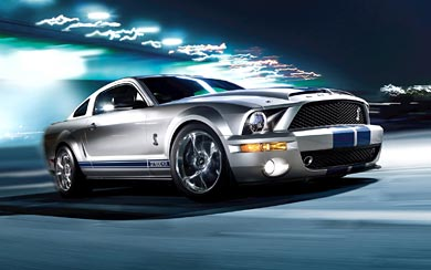 2008 Ford Shelby Mustang GT500KR wallpaper thumbnail.