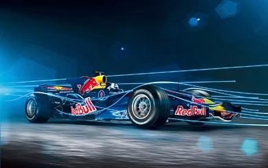 2008 Red Bull Racing RB4 wallpaper thumbnail.