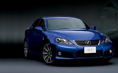 2008 Lexus IS-F wallpaper thumbnail.
