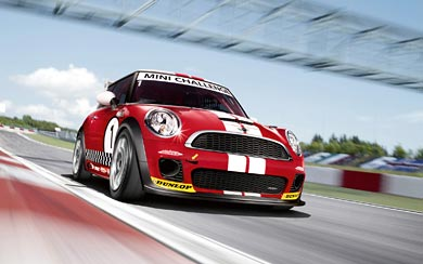 2008 Mini Cooper S Challenge wallpaper thumbnail.