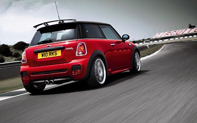 2008 Mini John Cooper S Works wallpaper thumbnail.