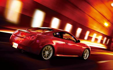2008 Nissan Skyline Coupe 370GT wallpaper thumbnail.