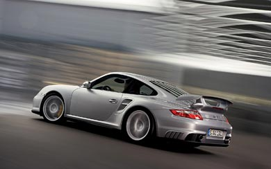 2008 Porsche 911 GT2 wallpaper thumbnail.