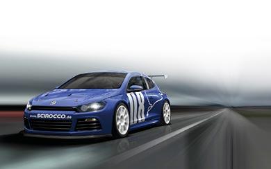 2008 Volkswagen Scirocco GT24 wallpaper thumbnail.