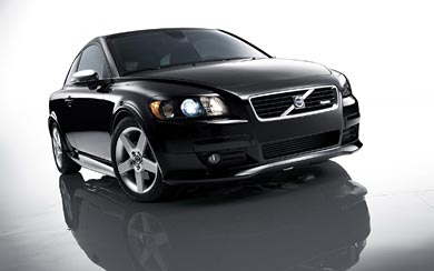 2008 Volvo C30 R Design wallpaper thumbnail.