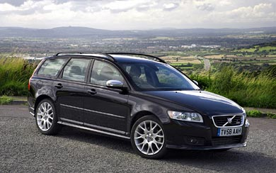 2008 Volvo V50 R-Design wallpaper thumbnail.