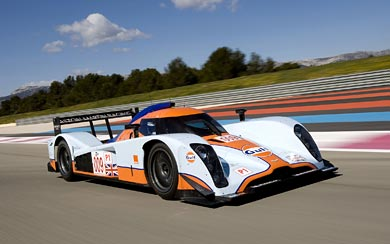 2009 Aston Martin B09/60 LMP1 wallpaper thumbnail.
