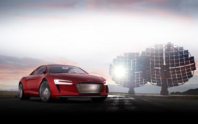 2009 Audi E-Tron Concept wallpaper thumbnail.