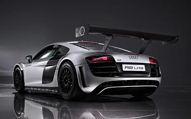 2009 Audi R8 LMS wallpaper thumbnail.