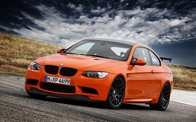 2009 BMW M3 GTS wallpaper thumbnail.