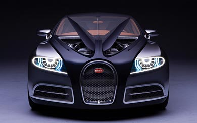 2009 Bugatti 16C Galibier Concept wallpaper thumbnail.