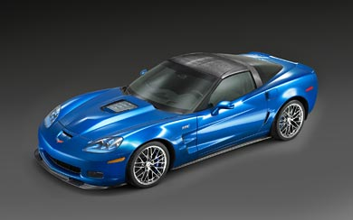 2009 Chevrolet Corvette ZR1 wallpaper thumbnail.